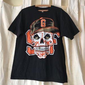 Other - SF Giants dia de los muertos tee